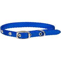 Petco Adjustable Blue Buckle Dog Collar, For Necks 16 -20