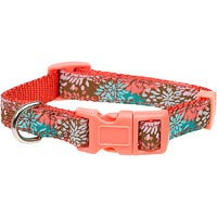 Petco Bloom Nylon Adjustable Dog Collar, For Necks 14 -20