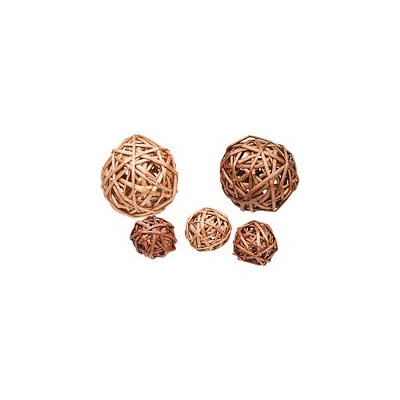 Petco Willow Branch Balls Small Animal Chews, Pack of 5 chews ()