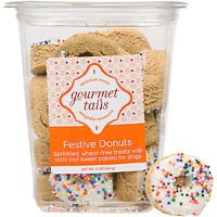 Gourmet Tails Festive Donuts Dog Treats, 12 oz.