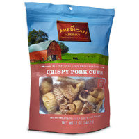 American Jerky Crispy Pork Curls Dog Treats, 12 oz.