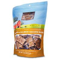 American Jerky Chicken and Salmon Recipe Bars Dog Treats, 16 oz.