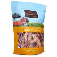 American Jerky Carrot Chips Dog Treats, 10 oz.