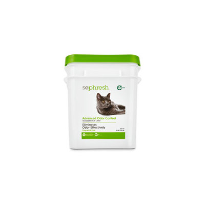 So Phresh Advanced Odor Control Scoopable Fragrance Free Cat Litter, 30 lbs.