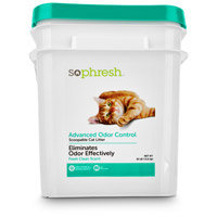 Petco So Phresh Advanced Odor Control Scoopable Scented Cat Litter, 30 lbs.