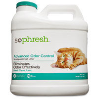 Petco So Phresh Advanced Odor Control Scoopable Scented Cat Litter, 16 lbs.