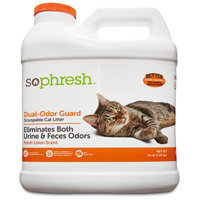 Petco So Phresh Dual Odor Guard Scoopable Cat Litter, 16 lbs.