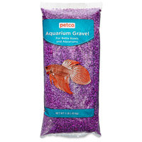 Petco Purple Aquarium Gravel, 1 lb. ()
