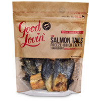 Good Lovin' Raw Salmon Tails Freeze-Dried Dog Treats, 4 oz.