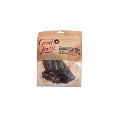 Good Lovin' Wild Kangaroo Ribs Gently Dried Dog Chews, 8 oz.