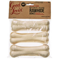 Good Lovin' Natural Flavor Rawhide Dog Bones, 6.3 oz.
