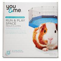 You & Me Run & Play Space Small Animal Playpen, Medium ()