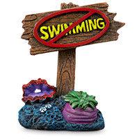 Imagitarium Aquatic D,cor No Swimming Sign, 2.5