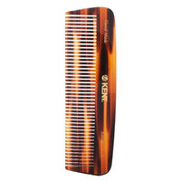 Kent Handmade Comb 12T - 146mm Medium Size for Thick/Coarse Hair