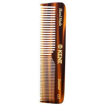 Kent Handmade Comb OT - 113mm Coarse and Fine Men's Pocket Comb