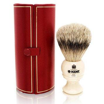 Kent Pure Badger Shaving Brush - Travel Size Model No. BK4