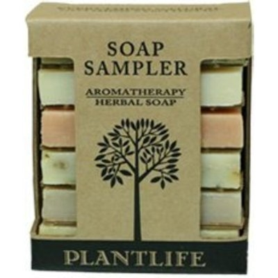 Plantlife Aromatherapy Herbal Soap Sampler (Made with 100% Pure Essentail Oils)