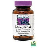 Bluebonnet Nutrition - B-Complex 50 High Potency - 50 Vegetarian Capsules