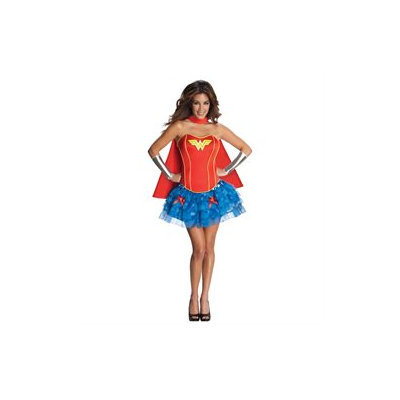 Women's Costume: Flirty Wonder Woman- Extra Small