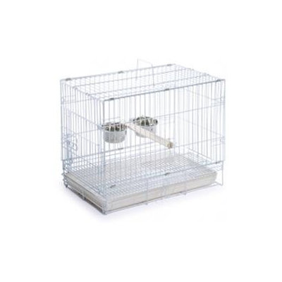 Prevue Pet Products 1305 Travel Cage - White
