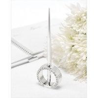 Hortense B. Hewitt Jeweled Ring Pen Set - Silver