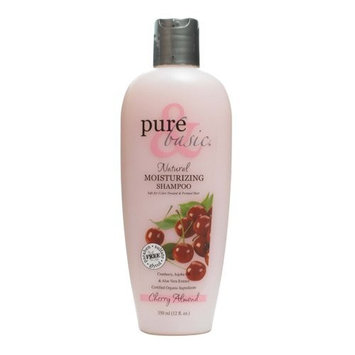 Pure and Basic Body Wash, Cherry Almond, 12 Fluid Ounce
