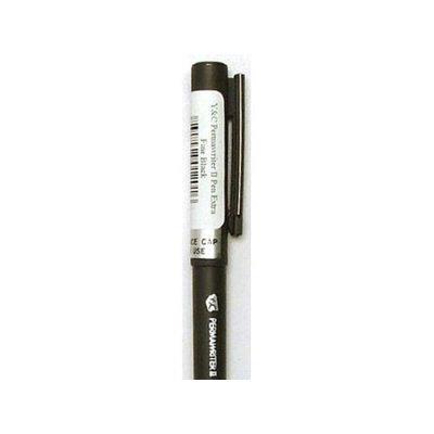 Yasutomo YASNSP201.A Y & C Permawriter II Pen Extra Fine Black Pack Of 6