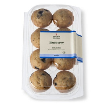 Archer Farms Mini Blueberry Muffins 8 ct