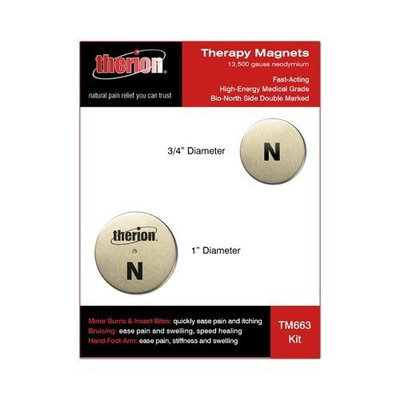 Therion Neodymium Magnet Therapy Kit (Magnets - Two