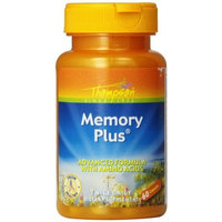 Thompson Memory Plus , Advanced Formula with Amino Acids, 60 Capsules, (Pack of 2)