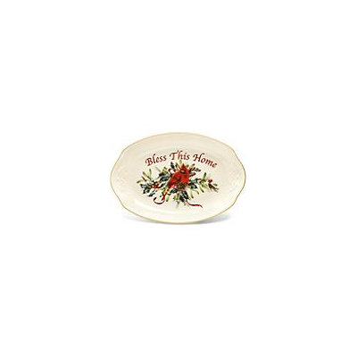 Lenox Winter Greetings Bless This Home Tray