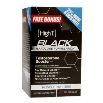 HighT Black Hardcore Formulation, Capsules