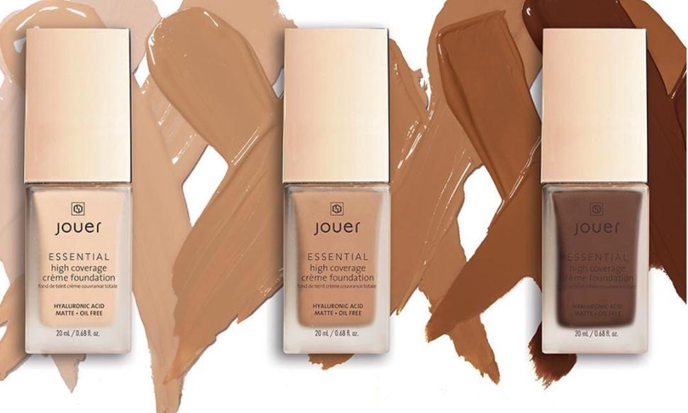 Jouer Cosmetics Essential High Coverage Crème Foundation