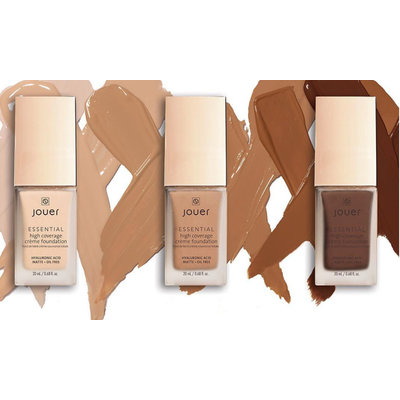 Jouer Cosmetics Essential High Coverage Crème Foundation