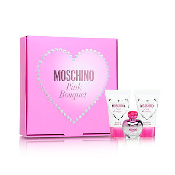 Pink Bouquet by Moschino 3 Piece Set
