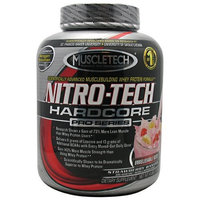 MuscleTech Nitro Tech Hardcore Pro Series Strawberry Banana -- 4 lbs