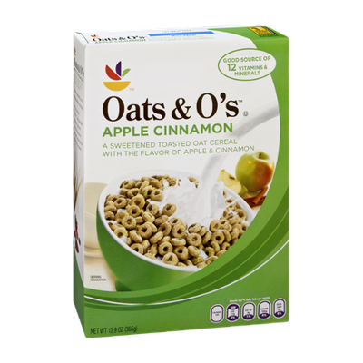 Ahold Oats & O's Apple Cinnamon Flavor Cereal