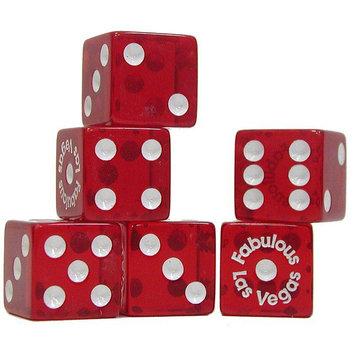 Trademark Poker Fabulous Las Vegas Dice - 5 Piece Dice Package