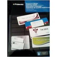 Polaroid Premium White Mailing Labels 240 ct Label Size - 2 5/8 x 1
