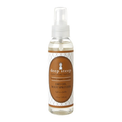Deep Steep Dry Oil Body Spritzer, Brown Sugar Vanilla, 4 fl oz