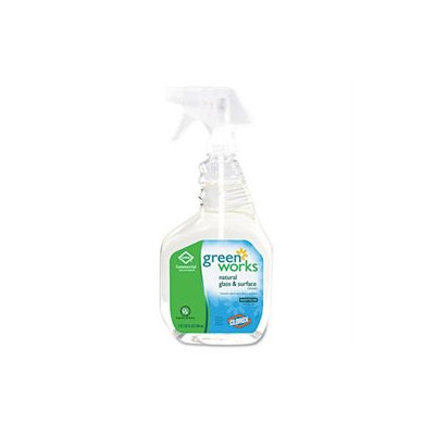 Clorox Company COX00459 Green Works Natural Glass/Surface Cleaner
