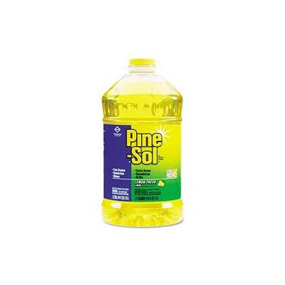 Clorox 35419EA Pine-Sol All-Purpose Cleaner- Lemon Scent- 144 oz. Bottle