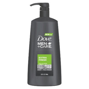 Dove Men Dove Extra Fresh Body and Face Wash for Men - 23.5 oz