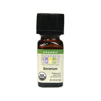 Essential Oil Geranium Geranium 0.25 oz by Aura Cacia