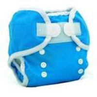 Thirsties Duo Wrap, Ocean Blue, Size One (6-18 lbs) (Discontinued by Manufacturer)