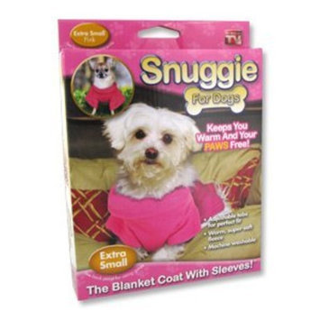 Allstar Products Snuggie for Dogs in Pink - Extra Small