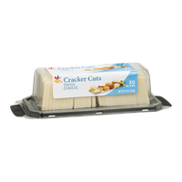 Ahold Cracker Cuts Cheese Slices Swiss - 30 CT