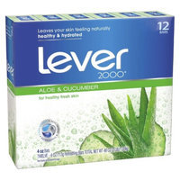 Lever 2000 Fresh Aloe Bar Soap - 12 bar
