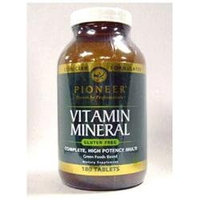 Pioneer Vitamin Mineral - 180 Tablets - Multivitamins with Iron