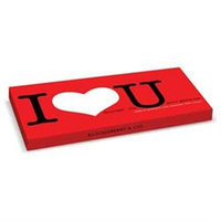 Bloomsberry Chocolates 3009 I Love You Chocolate- Pack Of 10